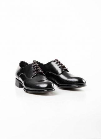 mmoriabc maurizio altieri men goodyear wood nailed derby shoe schuh BBB ZeRo genuine horween shell cordovan leather black hide m 2