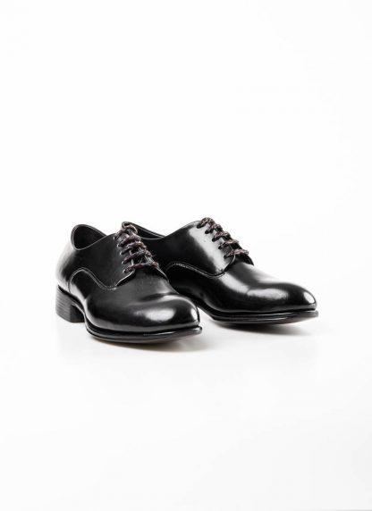 mmoriabc maurizio altieri men goodyear wood nailed derby shoe schuh BBB ZeRo genuine horween shell cordovan leather black hide m 2