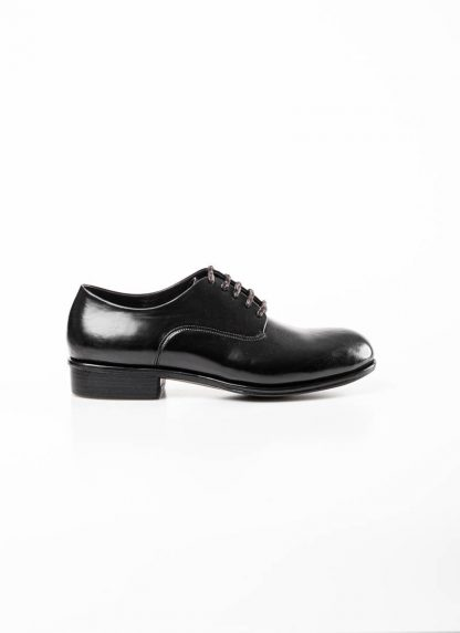 mmoriabc maurizio altieri men goodyear wood nailed derby shoe schuh BBB ZeRo genuine horween shell cordovan leather black hide m 3