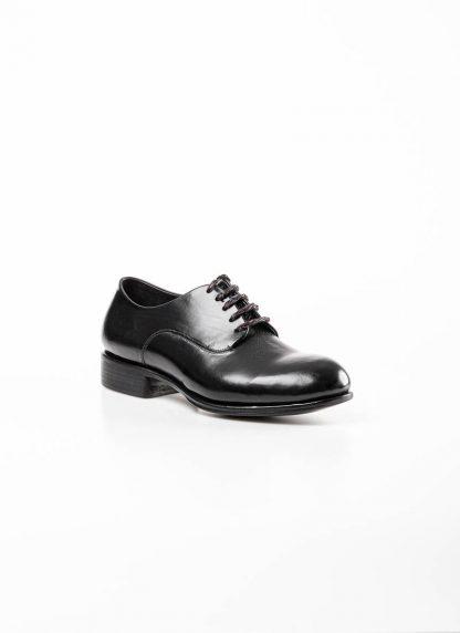 mmoriabc maurizio altieri men goodyear wood nailed derby shoe schuh BBB ZeRo genuine horween shell cordovan leather black hide m 4