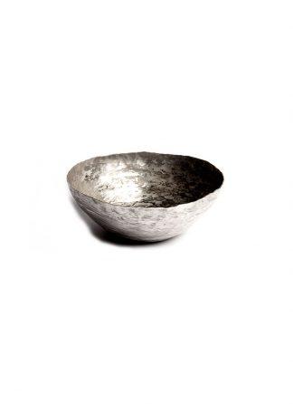 werkstatt munchen m0070 small bowl sterling silver hide m 1