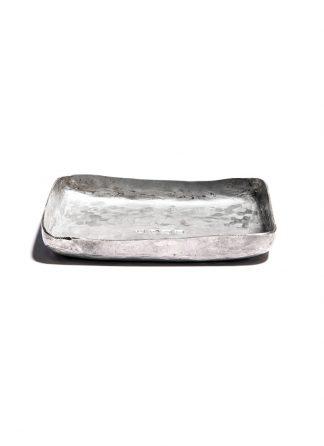 werkstatt munchen m0090 small tray sterling silver hide m 1