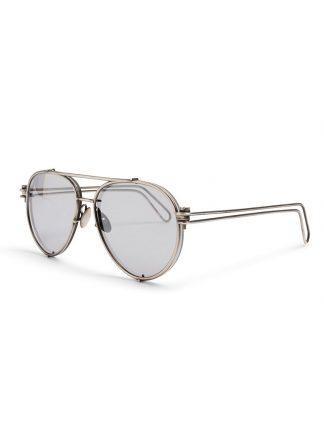 werkstatt munchen m0511 glasses 11 silver mirror side sterling silver hide m 1