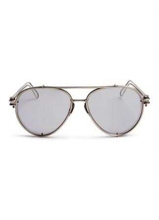 werkstatt munchen m0511 glasses 11 silver mirror sterling silver hide m 1