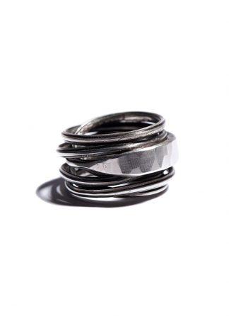 werkstatt munchen m1974 ring wound crossover sterlling silver hide m 1