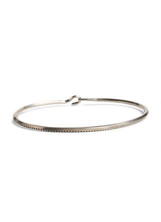 werkstatt munchen m2399 bangle side hook rope sterling silver hide m 1