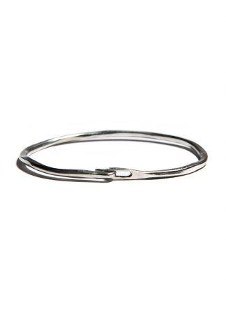 werkstatt munchen m2640 bangle hook hammered sterling silver hide m 1