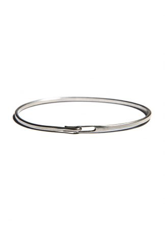 werkstatt munchen m2640 bangle hook plain sterling silver hide m 1