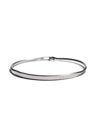 werkstatt munchen m2640 bangle hook tag sterling silver hide m 1