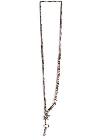 werkstatt munchen m3702 necklace keystar silver hide m 1