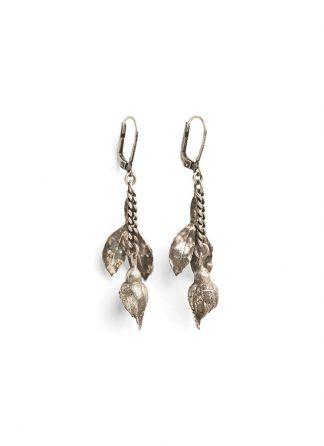werkstatt munchen m4562 earrings rosebud sterling silver hide m 1