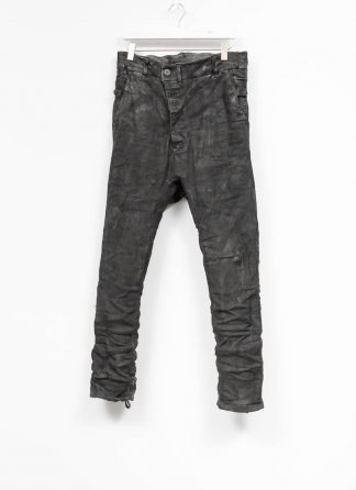 BORIS BIDJAN SABERI men pants hose roots P23 F177 CO LY used black hide m 2