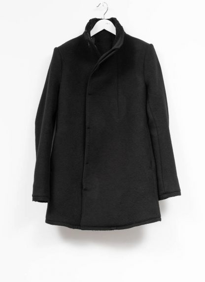 BORIS BIDJAN SABERI roots men coat jacket herren jacke mantel COAT SHORT FFB10003 pure cashmere black hide m 2