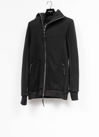 BORIS BIDJAN SABERI roots men herren ninja zip hoodie jacket ZIPPER2 FWT00001 CO WO PA WS black hide m 2