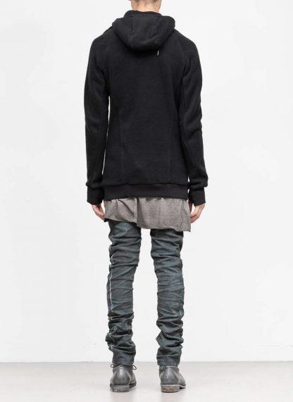 BORIS BIDJAN SABERI roots men herren ninja zip hoodie jacket ZIPPER2 FWT00001 CO WO PA WS black hide m 6