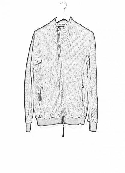 BORIS BIDJAN SABERI roots men zip jacket ZIPPER1 FMV00026 cotton black hide m 1