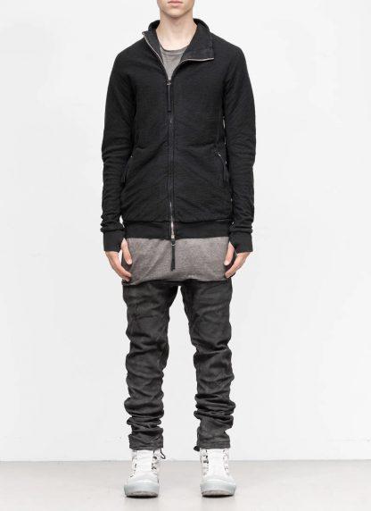 BORIS BIDJAN SABERI roots men zip jacket ZIPPER1 FMV00026 cotton black hide m 3