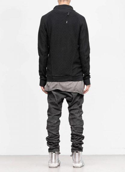 BORIS BIDJAN SABERI roots men zip jacket ZIPPER1 FMV00026 cotton black hide m 5
