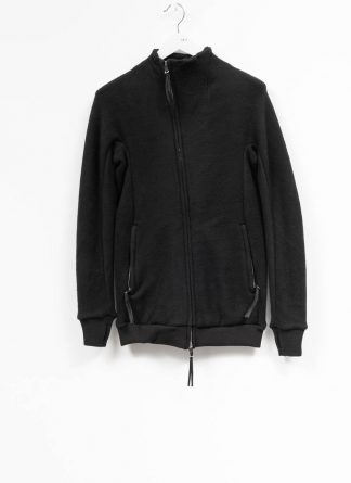 BORIS BIDJAN SABERI roots men zip jacket ZIPPER1 FWT00001 CO WO PA WS black hide m 2