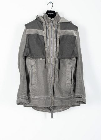 BORIS BIDJAN SABERI ss20 PARKA2 men jacket herren jacke FET10004 FET10004 R cotton pl ea light grey hide m 2