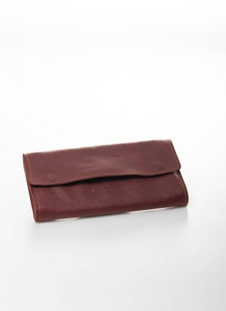 GUIDI wallet geldboerse PT2 kangaroo full grain leather red 1006T hide m 2