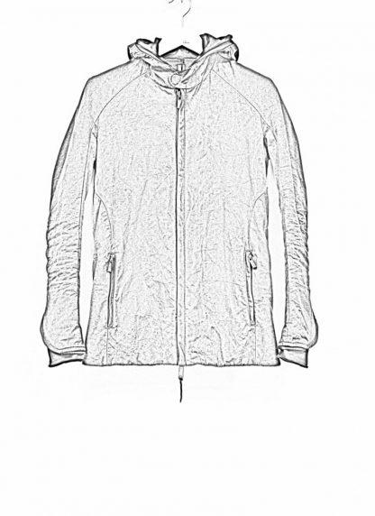 LAYER 0 Alessio Zero men E caban jacket with backpack herren jacke canvas cotton g grey hide m 1