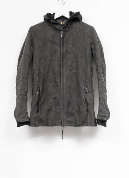 LAYER 0 Alessio Zero men E caban jacket with backpack herren jacke canvas cotton g grey hide m 2