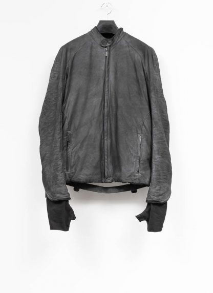 LAYER 0 Alessio Zero men E jacket with backpack herren jacke calf leather black hide m 2