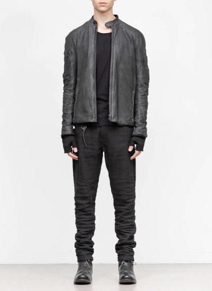 LAYER 0 Alessio Zero men E jacket with backpack herren jacke calf leather black hide m 3 1