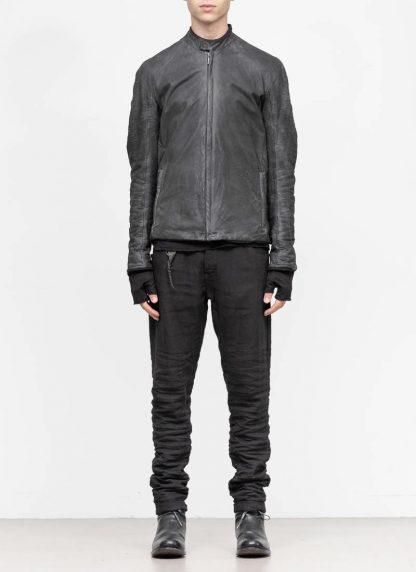 LAYER 0 Alessio Zero men E jacket with backpack herren jacke calf leather black hide m 4 1