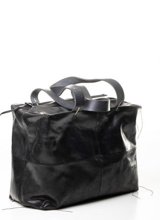 M.A MAURIZIO AMADEI women double handle patch work bag damen tasche BQ33 CUL horse leather black hide m 2