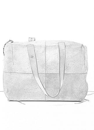M.A MAURIZIO AMADEI women double handle patch work bag damen tasche BQ33 CUX.R horse leather hand painted black coal hide m 1