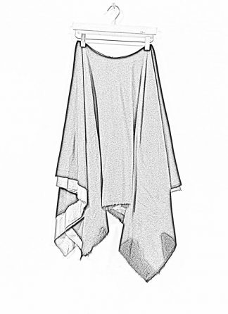 M.A MAURIZIO AMADEI women zipped square skirt damen rock K621M WVPK POPS2 virgin wool polyamide cashmere black coal hide m 1
