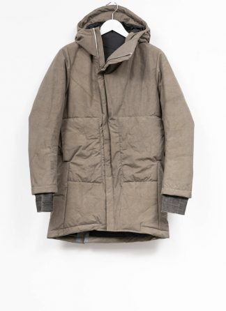 TAICHI MURAKAMI mountain parka long insulated jacket FW1920 3layer nylon wp primaloft beige hide m 2