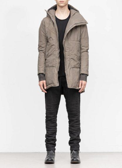 TAICHI MURAKAMI mountain parka long insulated jacket FW1920 3layer nylon wp primaloft beige hide m 3