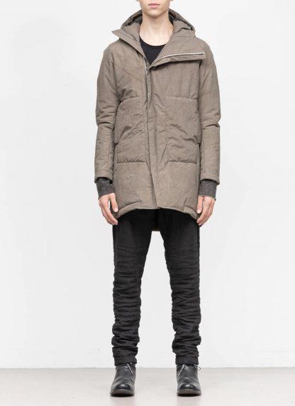 TAICHI MURAKAMI mountain parka long insulated jacket FW1920 3layer nylon wp primaloft beige hide m 4