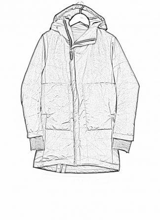 TAICHI MURAKAMI mountain parka long insulated jacket FW1920 3layer nylon wp primaloft black hide m 1