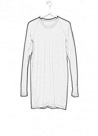 11byBBS BORIS BIDJAN SABERI FW1920 men long sleeve tshirt sweater longsleeve LS3 F1135 cotton black hide m 1