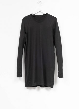 11byBBS BORIS BIDJAN SABERI FW1920 men long sleeve tshirt sweater longsleeve LS3 F1135 cotton black hide m 2