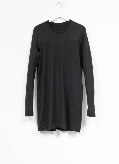 11byBBS BORIS BIDJAN SABERI FW1920 men long sleeve tshirt sweater longsleeve LS3 F1135 cotton black hide m 2