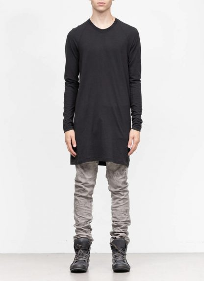 11byBBS BORIS BIDJAN SABERI FW1920 men long sleeve tshirt sweater longsleeve LS3 F1135 cotton black hide m 3