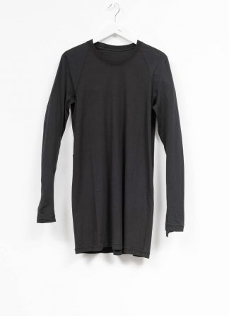 11byBBS BORIS BIDJAN SABERI FW1920 men long sleeve tshirt sweater longsleeve light weight LS3 F1101 cotton black hide m 2