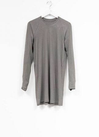 11byBBS BORIS BIDJAN SABERI FW1920 men long sleeve tshirt sweater longsleeve light weight LS3 F1101 cotton dark grey hide m 2