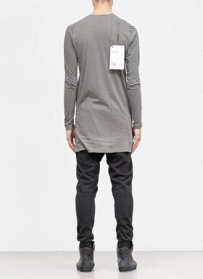 11byBBS BORIS BIDJAN SABERI FW1920 men long sleeve tshirt sweater longsleeve light weight LS3 F1101 cotton dark grey hide m 5