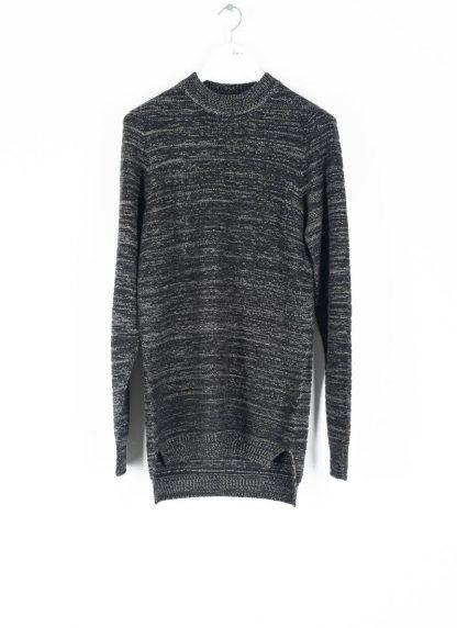 BORIS BIDJAN SABERI roots men round neck sweater herren pulli exclusively limited exclusive FPI30002 FPI30003 cashmere patina grey hide m 2