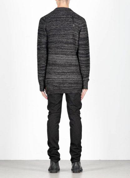BORIS BIDJAN SABERI roots men round neck sweater herren pulli exclusively limited exclusive FPI30002 FPI30003 cashmere patina grey hide m 5
