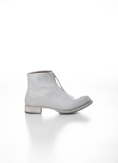 CHEREVICHKIOTVICHKI women front zip one piece ankle boot damen schuh stiefel 55AW19 bleached calf leather white hide m 2