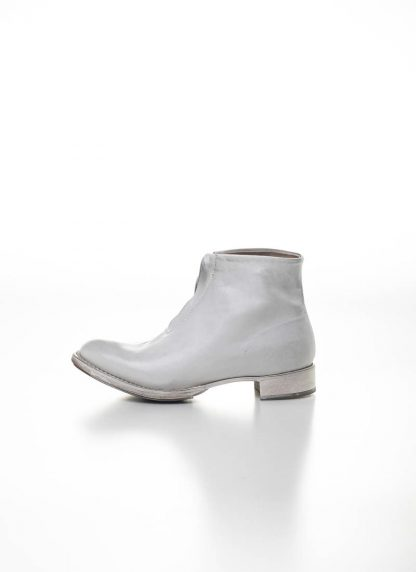 CHEREVICHKIOTVICHKI women front zip one piece ankle boot damen schuh stiefel 55AW19 bleached calf leather white hide m 6