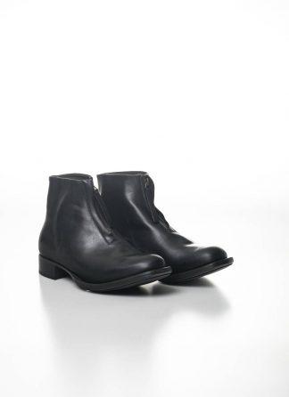 CHEREVICHKIOTVICHKI women front zip one piece ankle boot damen schuh stiefel 55AW19 horse leather black hide m 2