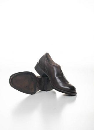 CHEREVICHKIOTVICHKI women slip on derby damen schuh 48AW19 calf nubuck leather aubergine brown hide m 2
